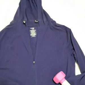 NWT Danskin Ladies Zippered Jacket w/Hood